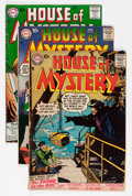 Silver Age (1956-1969):Horror, House of Mystery Jack Kirby Group (DC, 1957-58) Condition: AverageVG-.... (Total: 6 Comic Books)