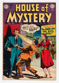 Golden Age (1938-1955):Horror, House of Mystery #4 (DC, 1952) Condition: VG+....