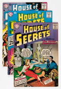 Silver Age (1956-1969):Mystery, House of Secrets Group (DC, 1957-58).... (Total: 4 Comic Books)