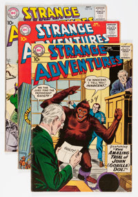 Strange Adventures Group (DC, 1959-64) Condition: Average FN.... (Total: 24 Comic Books)