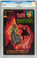 Bronze Age (1970-1979):Horror, Dark Shadows #13 Savannah pedigree (Gold Key, 1972) CGC NM+ 9.6Off-white pages....