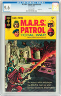 Silver Age (1956-1969):War, M.A.R.S. Patrol Total War #6 Savannah pedigree (Gold Key, 1968) CGC NM+ 9.6 Off-white pages....