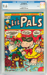 Li'l Pals #4 Savannah pedigree (Marvel, 1973) CGC NM+ 9.6 Cream to off-white pages