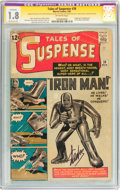Tales of Suspense #39 Signature Series (Marvel, 1963) CGC Apparent GD- 1.8 Moderate (A) Off-white pages