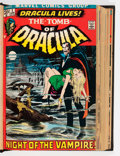 Bronze Age (1970-1979):Horror, Tomb of Dracula #1-32 Bound Volumes (Marvel, 1972-75).... (Total: 2Items)