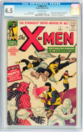 Silver Age (1956-1969):Superhero, X-Men #1 (Marvel, 1963) CGC VG+ 4.5 Off-white pages....
