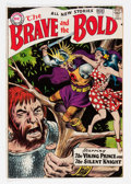 Silver Age (1956-1969):Adventure, The Brave and the Bold #22 (DC, 1959) Condition: FN+....
