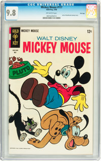 Mickey Mouse #117 File Copy (Gold Key, 1968) CGC NM/MT 9.8 Off-white pages