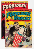 Golden Age (1938-1955):Horror, Forbidden Worlds #6 and 7 Group (ACG, 1952).... (Total: 2 ComicBooks)