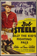 """Movie Posters:Western, Billy the Kid's Fighting Pals (PRC, 1941). One Sheet (27"""" X 41""""). Western.. ..."""