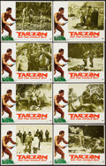 "Movie Posters:Adventure, Tarzan and the Jungle Boy (Paramount, 1968). Lobby Card Set of 8(11"" X 14""). Adventure.. ... (Total: 8 Items)"