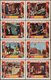 """Gunfight at the O.K. Corral (Paramount, R-1964). Lobby Card Set of 8 (11"""" X 14""""). Western. ... (Total: 8 Items..."""