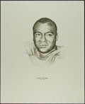 Football Collectibles:Others, 1960's Lionel Aldridge Williams Advertising Rare Oversized Green Bay Packers Print....