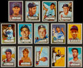 Baseball Cards:Autographs, 1952 Reprints Signed Cards Lot of 14....