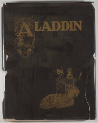 [Mackenzie, illustrator]. SIGNED. Arthur Ransome. Aladdin and His Wonderful Lamp in Rhyme. <