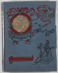 Books:Children's Books, Mary Lee Etheridge. Dick and Joe or Two of a Kind. Boston:De Wolfe, Fiske, [1893]. First edition. Octavo. 138 pages...