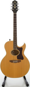 Musical Instruments:Acoustic Guitars, 1987 Guild F-45CE Natural Acoustic Electric Guitar, Model#F450111....