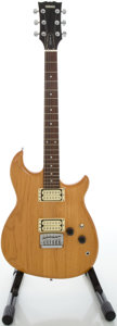 Musical Instruments:Electric Guitars, Circa Early 1980's Yamaha SHB400 Natural Solid Body ElectricGuitar, Serial #041505....