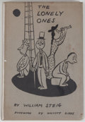 Books:Art & Architecture, William Steig. The Lonely Ones. New York: Duell Sloan and Pearce, [1942]. First edition, first printing. Octavo....