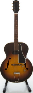 Musical Instruments:Acoustic Guitars, Circa: Late 1940's Gibson ES-150 Sunburst Archtop Electric Guitar....