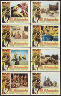 "Movie Posters:War, El Alaméin (Columbia, 1953). Lobby Card Set of 8 (11"" X 14""). War..... (Total: 8 Items)"