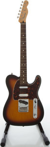 Musical Instruments:Electric Guitars, 2007 Fender Nashville Telecaster MIM Sunburst Solid Body Electric Guitar, Serial #MZ1127821....