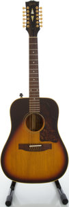 Musical Instruments:Acoustic Guitars, 1967 Gibson B45-12 Sunburst Acoustic Guitar, Serial #090256....