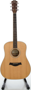 Musical Instruments:Acoustic Guitars, 2009 Taylor BN3 Natural Acoustic Guitar, Serial #20090730035....