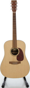 Musical Instruments:Acoustic Guitars, 2003 Martin DXM Natural Acoustic Guitar, Serial #948798....
