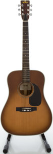 Musical Instruments:Acoustic Guitars, Late 1970's Sigma by Martin DR-7S Sunburst Acoustic Guitar, Serial#4191....
