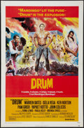 "Movie Posters:Blaxploitation, Drum (United Artists, 1976). One Sheet (27"" X 41"").Blaxploitation.. ..."