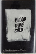 Books:Science Fiction & Fantasy, [Jerry Weist]. Robert Bloch. INSCRIBED. Blood Runs Cold. New York: Simon and Schuster, 1961. First edition, firs...