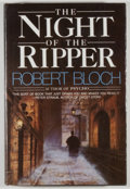 Books:Horror & Supernatural, Robert Bloch. The Night of the Ripper. Garden City: Doubleday & Company, 1984. First edition, first printing. Octavo...