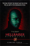 "Hellraiser: Bloodline (Dimension, 1996). One Sheet (27"" X 40"") DS Advance. Horror"