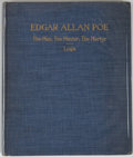 Books:Biography & Memoir, [Jerry Weist]. Oliver Leigh. Edgar Allan Poe: The Man, theMaster, the Martyr. Chicago: Frank M. Morris, 1906. F...