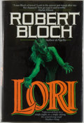 Books:Horror & Supernatural, [Jerry Weist]. Robert Bloch. SIGNED. Lori. New York: TOR,[1989]. First edition, first printing. Signed by Blo...