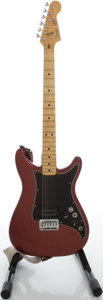 Musical Instruments:Electric Guitars, 1981 Fender Lead 1 Refinished Solid Body Electric Guitar, Serial#E106082....