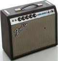 Musical Instruments:Amplifiers, PA, & Effects, 1970's Fender Vibro Champ Silverface Guitar Amplifier, Serial #A30674....