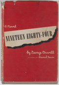 Books:Science Fiction & Fantasy, George Orwell. Nineteen Eighty-Four. New York: Harcourt, Brace, [1949]. First American edition, first printing. Octa...