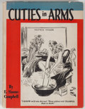 Books:Americana & American History, E. Simms Campbell. Cuties in Arms. Philadelphia: DavidMcKay, [1942]. Octavo. Publisher's binding and dust jacke...