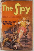 Books:Mystery & Detective Fiction, [Jerry Weist]. [Photoplay edition]. Thea von Harbou [author ofMetropolis]. The Spy. London: Readers...