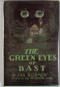 Books:Mystery & Detective Fiction, [Jerry Weist]. Sax Rohmer. The Green Eyes of Bast. New York:Grosset & Dunlap, [1920]. Later edition. Octavo. 31...