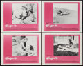 """Movie Posters:Adult, Eugenie (Distinction, 1970). Lobby Card Set of 4 (11"""" X 14""""). Adult.. ... (Total: 4 Items)"""