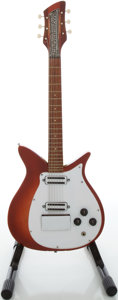 Musical Instruments:Electric Guitars, Early 1960's Rickenbacker 310 Fireglo Solid Body Electric Guitar...