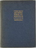Books:Art & Architecture, Year Book of the Chicago Architectural Exhibition League and Catalogue of the Forty-First Annual Exhibition 1928. Chicag...