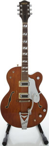 Musical Instruments:Electric Guitars, 1964 Gretsch Tennessean Walnut Semi-Hollow Body Electric Guitar,Serial #77819....
