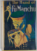 Books:Mystery & Detective Fiction, [Jerry Weist]. Sax Rohmer. The Hand of Fu-Manchu. New York:Grosset & Dunlap, [1920]. Later edition, third print...
