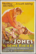 """Movie Posters:Western, The Lone Rider (Columbia, 1930). One Sheet (27"""" X 41""""). Western.. ..."""