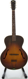 Musical Instruments:Acoustic Guitars, Circa: 1942 Gibson L-50 Sunburst Archtop Acoustic Guitar....