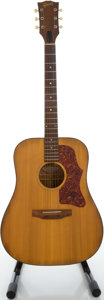 Musical Instruments:Acoustic Guitars, 1975 Gibson J-40 Natural Acoustic Guitar, Serial #A250607....